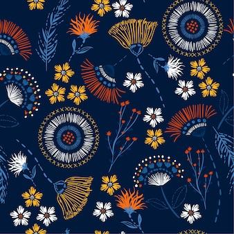 Patrón floral