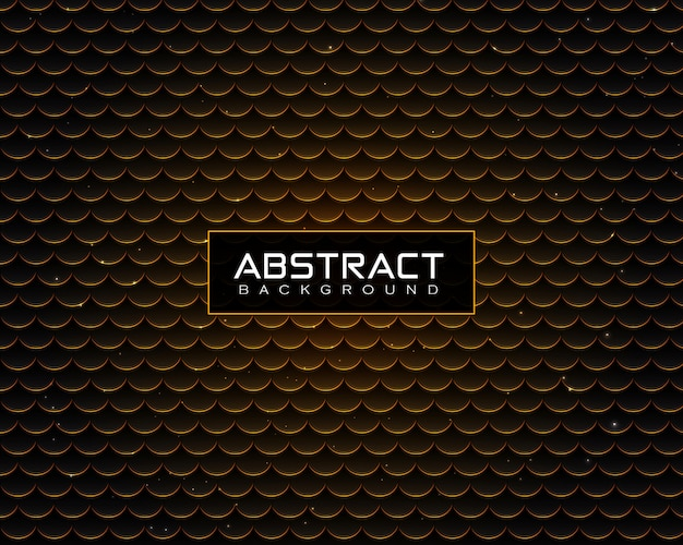 Patrón de fondo abstracto de lujo con puntos dorados brillantes y partículas