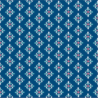 Patrón de fondo de damasco con moderno color azul marino
