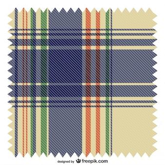 Patrón de fondo estilo escocés