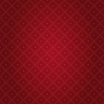 Patrón de fondo rojo resumen día de san valentín tarjeta de regalo de vacaciones
