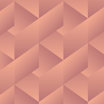 Patrón de geometría abstracta - formas vectoriales en color degradado