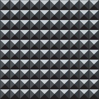Patrón geométrico abstracto sin fisuras con cubos 3d