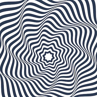 Patrón geométrico abstracto con líneas en zig zag