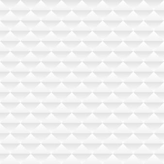 Patrón geométrico blanco sin costuras