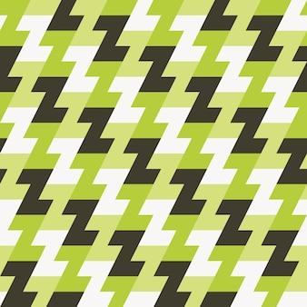 Patrón geométrico sin costuras para estampado de tela.