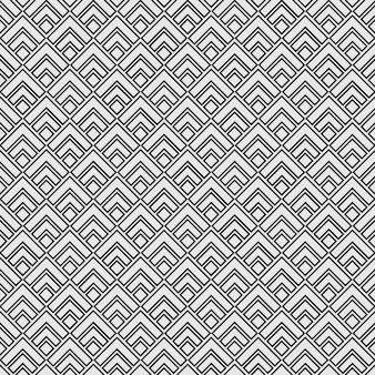 Patrón geométrico sin costuras mínimo diamante cuadrado