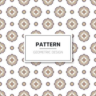 Patrón geométrico sin costuras