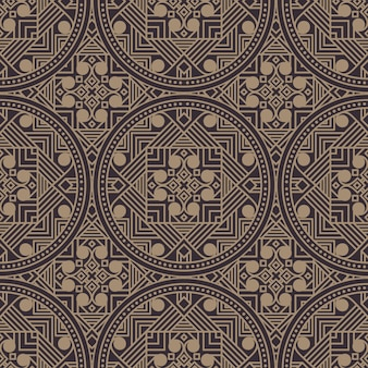 Patrón geométrico estilo zentangle