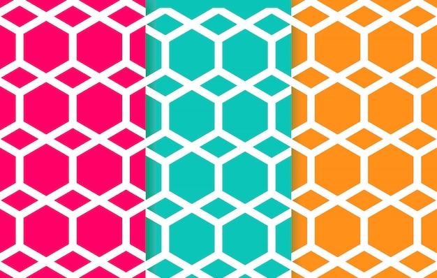 Patrón geométrico de líneas mínimas