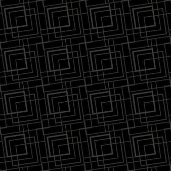 Patrón geométrico monocromo en negro