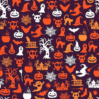 Patrón de halloween