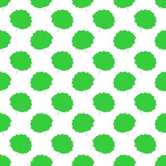 Patrón de hoja de álamo temblón. ilustración vectorial