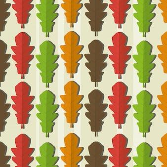 Patrón de hojas de ecología