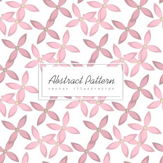 Patrón de ilustración de flores