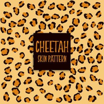 Patrón de impresión de textura de piel de guepardo
