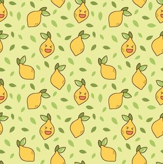 Patrón de limón