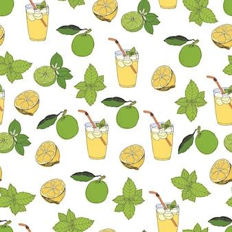 Patrón de limonada