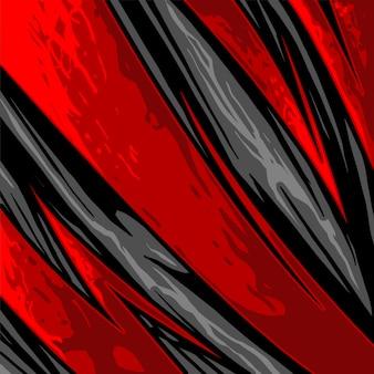 Patrón de línea de flecha abstracta de jersey deportivo