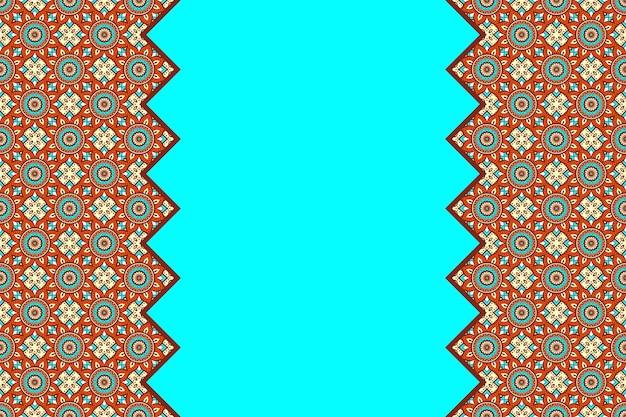 Patrón lineal transparente colorido geométrico