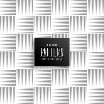 Patrón de líneas abstractas en estilo horizontal y vertical.