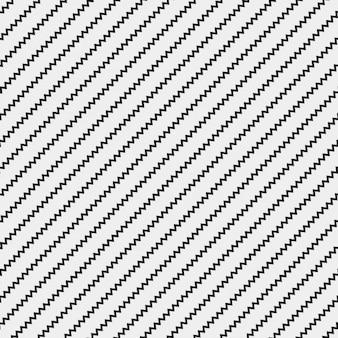 Patrón con líneas negras en zig zag