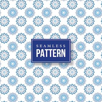 Patrón de mandala dibujado a mano sin costuras. elementos vintage de estilo oriental.