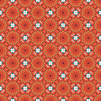 Patrón de mandala ornamental de lujo