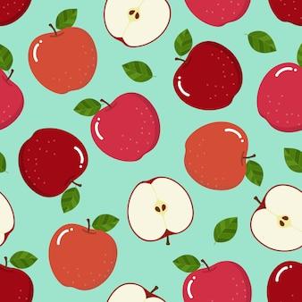 Patrón de manzana