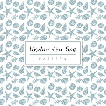 Bajo el patrón de mar