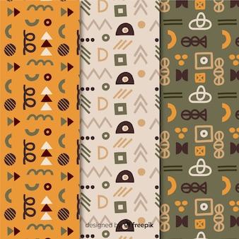 Patrón de memphis de formas geométricas minimalistas