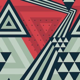Patrón moderno geométrico abstracto
