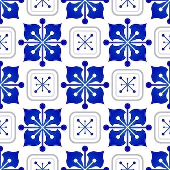Patrón de mosaico sin costuras