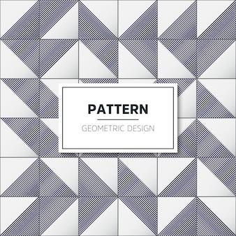 Patrón de mosaico geométrico