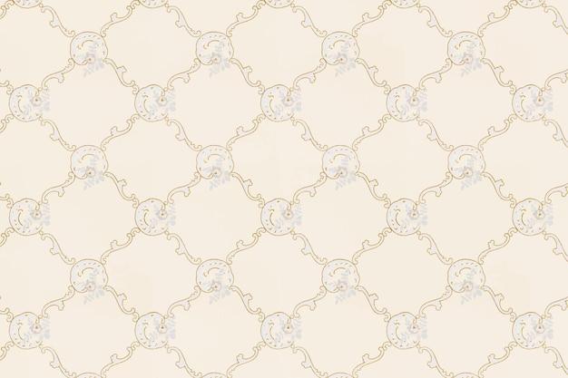 Patrón ornamental vintage