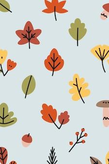 Patrón de otoño