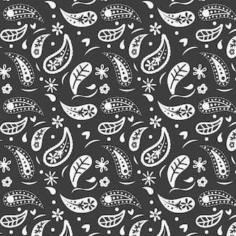 Patrón de paisley bandana