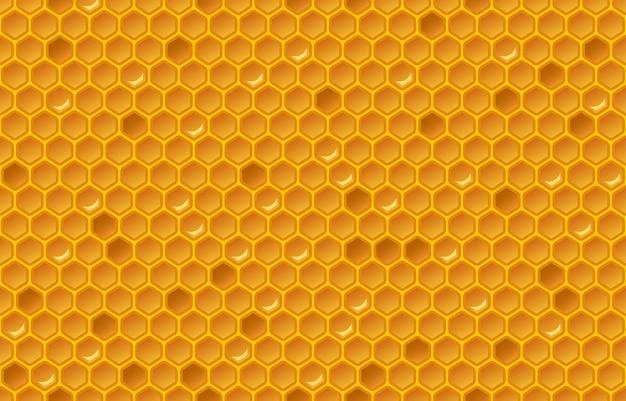Patrón de panal de miel