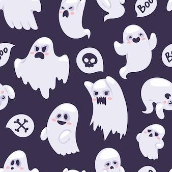 Patrón de personajes fantasma