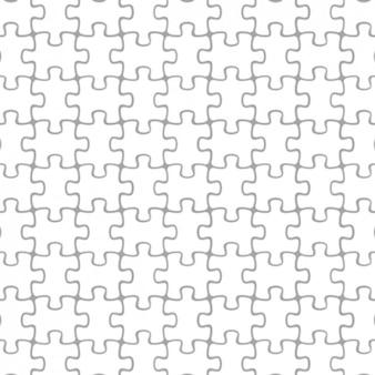 Patrón de piezas de puzzle