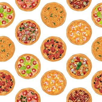 Patrón de pizza