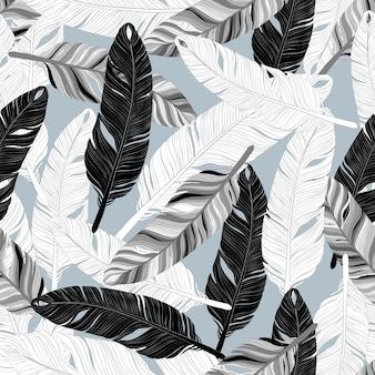 Patrón de plumas