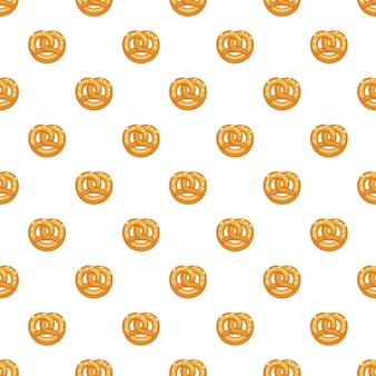 Patrón de pretzel sin costuras