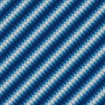 Patrón de punto suéter abstracto.