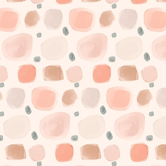 Patrón de puntos de acuarela en tono rosa claro