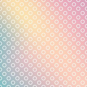 Patrón de puntos degradados, fondo geométrico abstracto. ilustracion de estilo de lujo y elegante