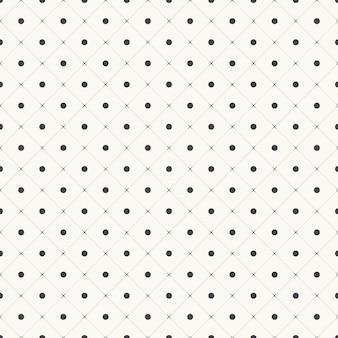 Patrón de puntos geométricos elegante y de lujo. ilustración de cuadrícula simple geométrica