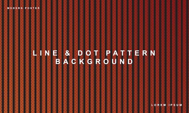 Patrón de puntos patrón de línea de fondo