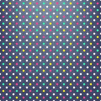 Patrón de puntos en textil, fondo geométrico abstracto. ilustración de estilo creativo y de lujo.