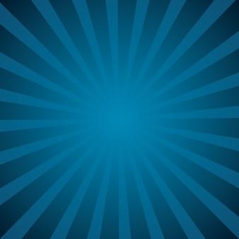 Patrón de rayos de sol